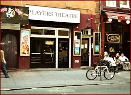 The Player's Theatre in the West Village NYC